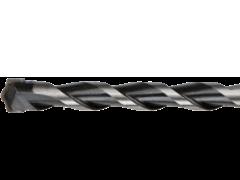 Купить Сверло спиральное по бетону 6х150 мм с цилиндрическим хвостовиком с твердосплавной пластиной ВК8