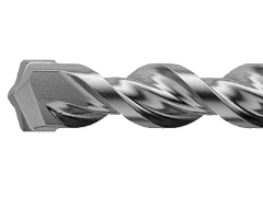 Купить Бур SCHWERT по бетону 7х110 мм с хвостовиком SDS-plus с усиленной спиралью