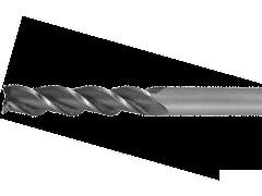 Купить Фреза концевая по металлу с цилиндрическим хвостовиком с удлиненной рабочей частью