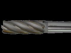 Купить Фреза концевая по металлу с коническим хвостовиком с винтовыми твердосплавными пластинами ВК8