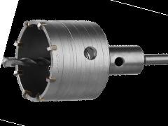 Купить Коронки по бетону SCHWERT по бетону 100х300 мм с хвостовиком SDS-plus в сборе с центровочным сверлом ВК8